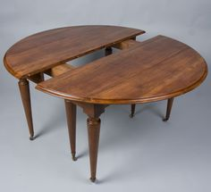 Louis XVI Style Dining Table | From a unique collection of antique and modern dining room tables at https://www.1stdibs.com/furniture/tables/dining-room-tables/