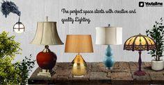 Creative & Stylist Luxury Lighting for all purpose #TableLamps #CeilingLightings #FloorLamps #StringLights #WallLights