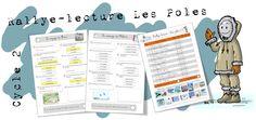 Rallye-lecture Les pôles : cycles 2 et 3 - Bout de gomme