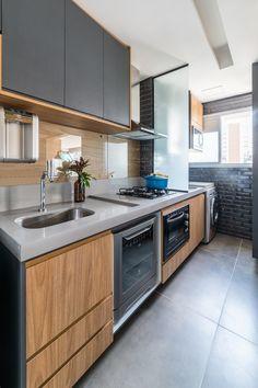 Minimalist Kitchen, Kitchen Cabinets, Kitchen Island, Decoration, My House, Minimalism, Kitchen Design, Sweet Home, New Homes