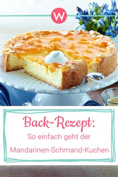 Tangerine sour cream cake: The original recipe- Mandarinen-Schmand-Kuchen: Das Original-Rezept With such tasty recipes as for the … - Chocolate Brownie Cookies, Chewy Sugar Cookies, Chocolate Chip Oatmeal, Cookies Et Biscuits, Healthy Cake Recipes, Easy Cookie Recipes, Brownie Recipes, Chocolate Recipes, Healthy Chocolate