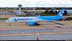 FrenchBlue Airbus A350-941XWB (registered F-HREU) taxiing at Paris-Orly (photo by MICHEL Charron)