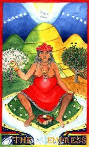 Image result for motherpeace tarot empress