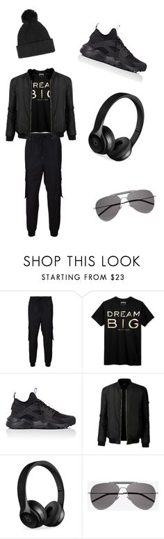 """""""Black Friday #2 😎!"""" by kingdiorx1 ❤ liked on Polyvore featuring Juun.j, Sean John, NIKE, LE3NO, Beats by Dr. Dre, Yves Saint Laurent, Topman, men's fashion and menswear"""