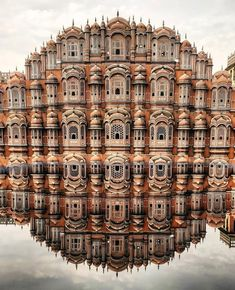Hawa Mahal (Palace of the Winds), facade of the palace with so-called & . - Hawa Mahal (Palace of the Winds), facade of the palace with so-called & roofs& and - India Architecture, Ancient Architecture, Beautiful Architecture, Architecture Design, Gothic Architecture, Building Architecture, Places To Travel, Travel Destinations, Places To Go