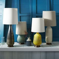 Mid-Century Table Lamp - Bullet | West Elm