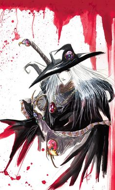Vampire Hunter D, HELL YES! This dude's so cool I have a role playing character based off of him.