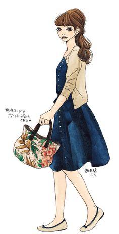お仕事ファッション&バッグの「素敵見え」鉄板セオリー:日経ウーマンオンライン【自分にぴったりのバッグが欲しい!】