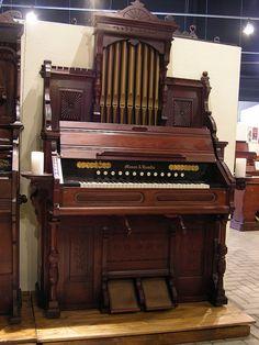 Mason & Hamlin - Reed Organ. Flickr - Photo Sharing!