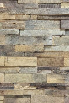Authentic Reclaimed Barn Wood Stacked wall panels for just $45 per panel. Real American Barn Wood pieces stacked into a single pre-fab mosaic panel you can install yourself. Transform a room in minute