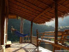 Escape to the Thai mountains of Chiang Rai to a bamboo bungalow #iGottaTravel #Thailand