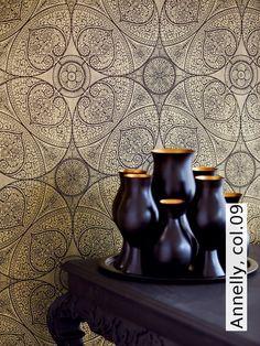 tapete annelly col09 die tapetenagentur - Tapete Orientalisches Muster