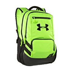 488e9918c5 Under Armour UA Hustle Storm Backpack One Size Fits All HYPER GREEN  47.99   UnderArmour Softball
