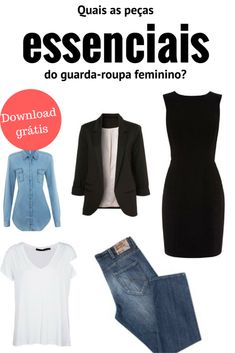 which are the essential parts of the women's wardrobe.- quais as peças essenciais do guarda-roupa feminino. peças … which are the essential parts of the women's wardrobe. Capsule Outfits, Capsule Wardrobe, Plus Size Chic, Look Chic, Fashion Outfits, Womens Fashion, Casual Chic, Casual Looks, Fashion Looks