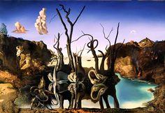 Salvador Dalí, cuadros al óleo, pintor surrealista.