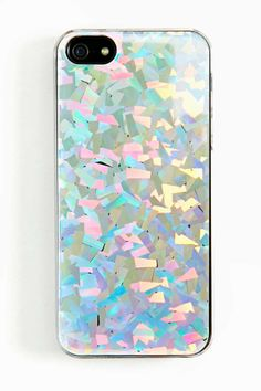 """Hologram iPhone 5 Case from - 36039 - @Becky Carver GAL (AUD $36.15). """"Way cute protective case for the iPhone 5 featuring a colorful holographic print."""""""