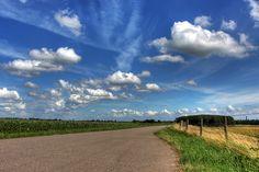 wolken,ik hou van Holland.