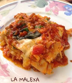 Lasaña de carne por La Malexa Ce #entrada #lasaña #lasagna #italiana #platillo #chef #easy #receta #recetasitacate #itacate #aniversario #fiestas