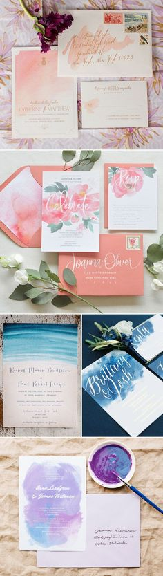 Simple is Beautiful! 30 Creative Invitation Ideas for Minimalist Couples!