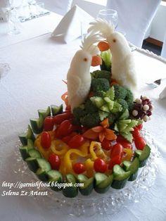 carved food art