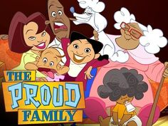 The Proud Family   Community Post: The Best Disney Channel, Nickelodeon, And Cartoon Network Shows!