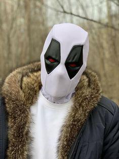 Deadpool mask  X-force  Weapon X  Venompool movie version X-force (white)