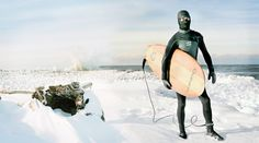 Surfing Great Lakes in Rochester NY...waves only in the winter!