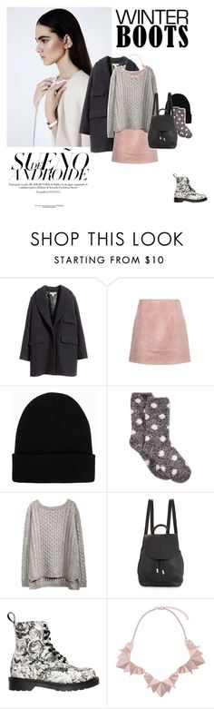 """winter boots"" by heartless1 ❤ liked on Polyvore featuring H&M, Acne Studios, NLY Accessories, Charter Club, rag & bone, Dr. Martens and Vero Moda"