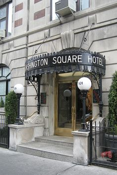 One of the few family-owned hotels in New York, the Washington Square Hotel has provided a haven for writers, artists and visitors. Formerly the Hotel Earle, dating to Bob Dylan stayed here in 1961 when he first arrived from Minneapolis at the age of Bob Dylan, Greenwich Village, Resorts, Manhattan, Home Nyc, Waverly Place, Destinations, I Love Nyc, Washington Square