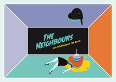 © 2014 Christian Chladny / www.chladny.com // The Neighbours / Card // Illustration