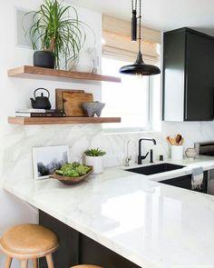 """74 Likes, 2 Comments - Fê Machado (@femachadodesigner) on Instagram: """"Inspiração de cozinha! ♥ #design #décor #decoracao #home #homedecor #interiores #interiordesign…"""""""