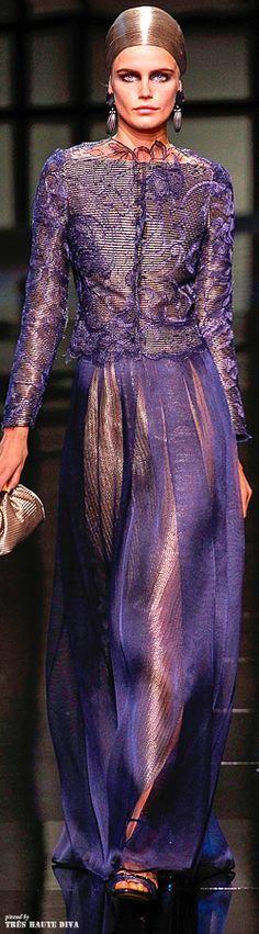 Giorgio Armani Privé Couture Spring 2014 | The House of Beccaria