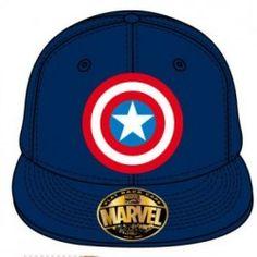 Captain America - casquette - marine