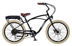 Pedego Interceptor 26 Classic Black with Creme Balloon Package 48V 10Ah >>> Want to know more, click on the image. (This is an affiliate link)
