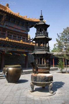 Inner Mongolia, Hohhot, Da Zhao lamasery