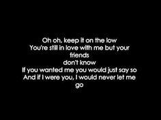 Saddest song ever it kills me every time I hear it. I hate it I love it. I Love U Lyrics, Love Yourself Lyrics, Love Songs, Song Quotes, New Quotes, Quotes To Live By, Saddest Songs, Greatest Songs, The Words
