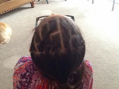 """truly just me: criss cross cornrows up """"n"""" down"""