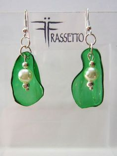 Frassetto Extravaganza: EARRINGS GREEN