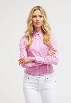 Polo Ralph Lauren HARPER - Paitapusero - pink/white - Zalando.fi