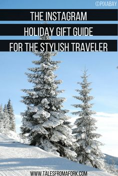 Shopping for someone who loves both travel and fashion? Then check out this holiday gift guide of things I own and are both functional and cute for travel & the items I'd love to add to my travel gear roster! You know these items will look good on Instagram because these influencers show them off around the world beautifully already!
