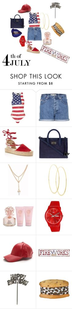 """HAPPY BIRTHDAY 2 MEEE"" by kia-green-1 ❤ liked on Polyvore featuring Topshop, Calvin Klein Jeans, Soludos, Diane Von Furstenberg, Lana, Vince Camuto, Swatch, Pier 1 Imports, Iscream and redwhiteandblue"