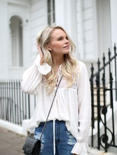 lace blouse in london - www.andreaclare.ca
