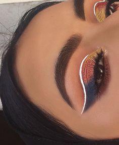 how to do eyeliner Eye Makeup Glitter, Kiss Makeup, Glam Makeup, Makeup Inspo, Makeup Art, Makeup Inspiration, Beauty Makeup, Hair Makeup, Makeup Ideas