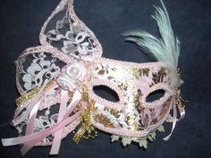 home made venetian mask