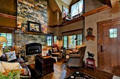 Cabin   Log   House Plan 43212