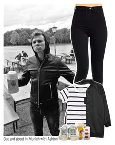 """""""Out and about in Munich with Ashton 