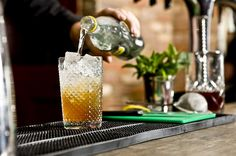 James Trevillion shows you how to mix a Tom Collins