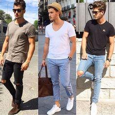 Look 1, 2 ou 3⁉️#homem #homemnamoda #homemfashion #homemmoderno #homemmantenado…