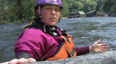 Anna Levesque's Tips on Reading Whitewater. Reading water is an important part of whitewater kayaking with confidence.  In this video clip Anna Levesque gives tips on reading water and why it's important to get out front and lead to hone your skills.