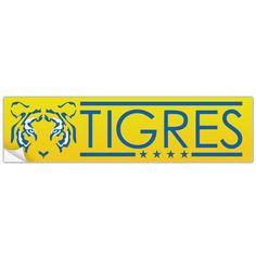 Tigres UANL Mexico Bumper Sticker Calcamonia